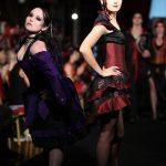 Black and purple gothic lolita dress