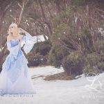 Snow Queen corset and gown