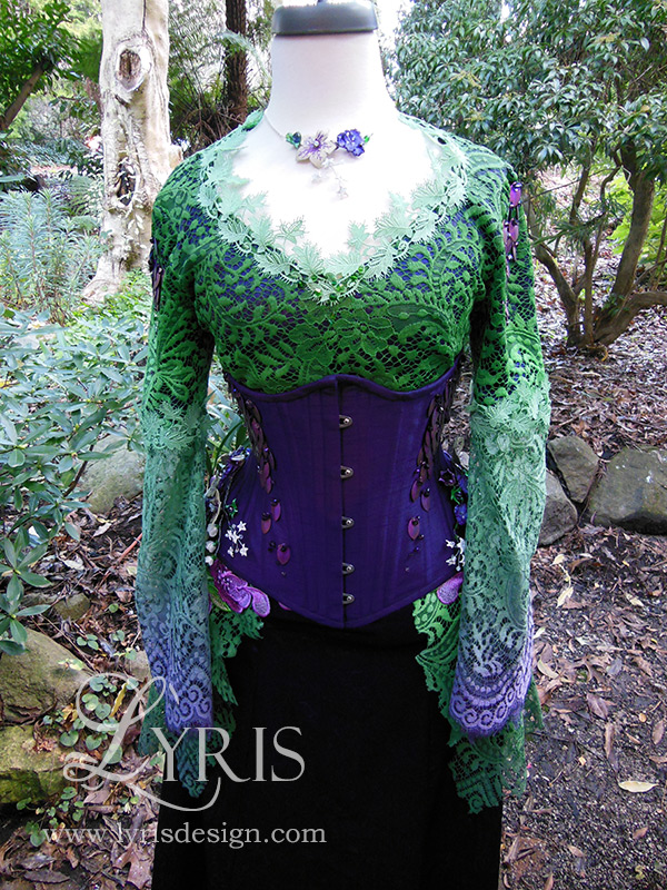 70ce00ce61b Poison dragon corset ball gown Poison dragon corset ball gown