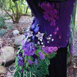 Poison dragon corset ball gown