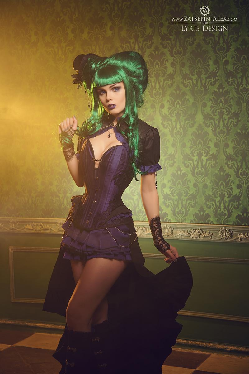 Victorian Steampunk Corset Dress