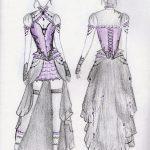 Elisanth design sketch