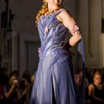 Monet waterlily corset and gown