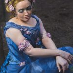 The Lady of the Lake waterlily corset and gown